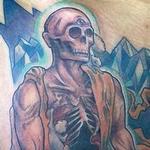 Undead monk Tattoo Design Thumbnail