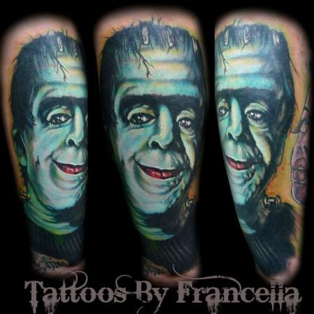 Tattoos - Herman Munster - 130604