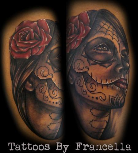 Tattoos - Day of the Dead Girl - 126378