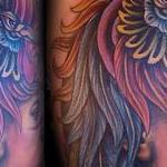 Indigenous Woman Warrior Tattoo Design Thumbnail