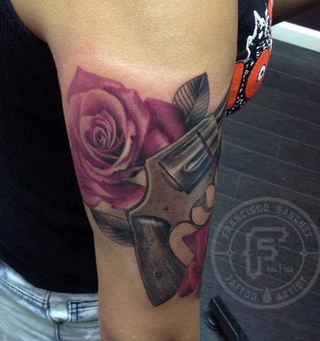 Tattoos - realistic rose tattoo - 89355