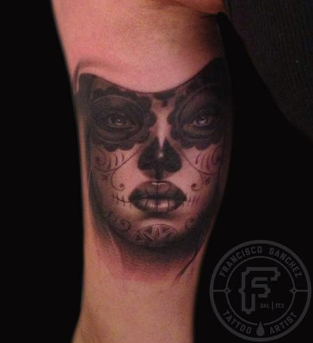Tattoos - day of the dead girl - 85819