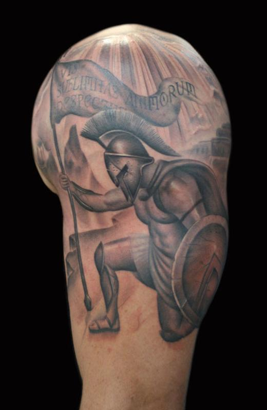 Francisco Sanchez - Spartan Sleeve