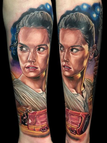 Tattoos - Rey - Star Wars - 115954