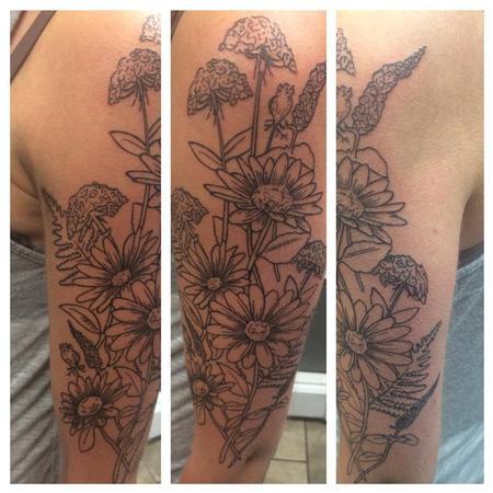 Tattoos - Flowers  - 115295