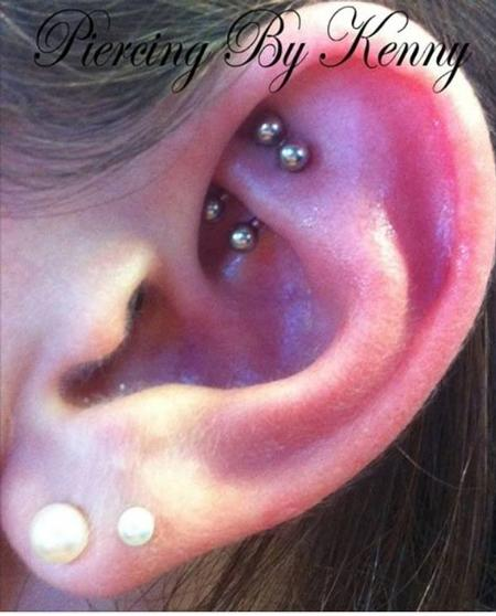 Tattoos - Double Rook  - 115333
