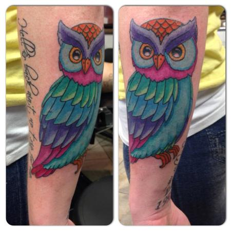 Tattoos - Owl  - 115278