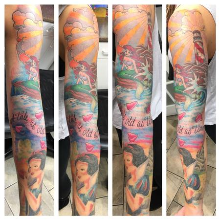 Tattoos - Disney sleeve - 123633