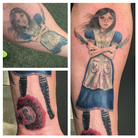 Alice mash up  (redo/addition) Tattoo Thumbnail