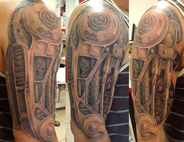 Biomechanical half sleeve
