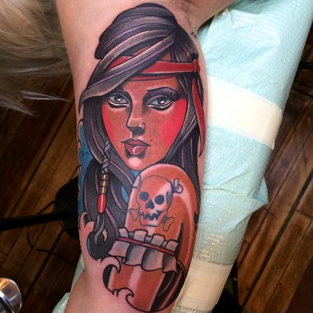 Tattoos - Pirate Wench - 95114