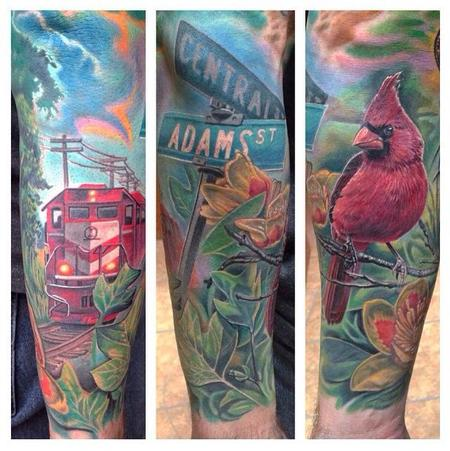 Max Egy - Half Sleeve Tribute to Indiana