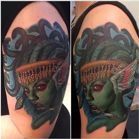 Medusa  Tattoo Design Thumbnail