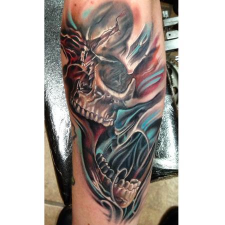 Tattoos - Skull  - 98774
