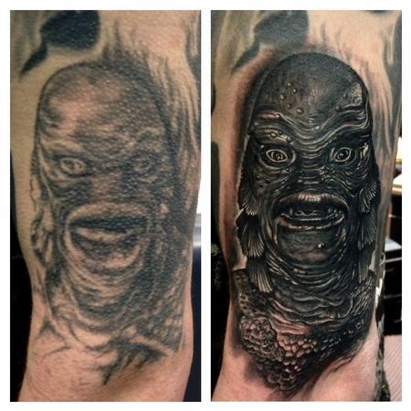 Creature of the Black Lagoon Tattoo Design Thumbnail