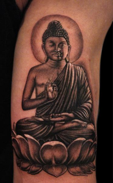 Buda  Tattoo Design Thumbnail