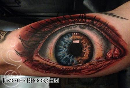 Eyeball! Tattoo Design Thumbnail
