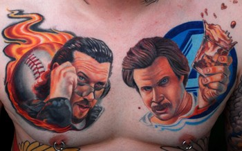 Timothy B Boor - Kenny Powers and Ron Burgundy