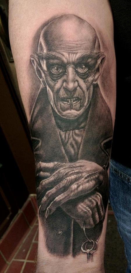 Nosferatu Tattoo Design Thumbnail