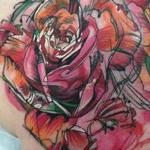 Tattoos - Custom Watercolor Roses  - 101472