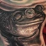 Frog  Tattoo Design Thumbnail
