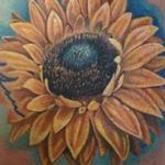 Tattoos - Sunflower  - 105073