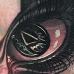 Atheist Eye Tattoo Design Thumbnail