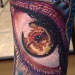 Eye with DNA  Tattoo Design Thumbnail