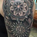 Paisley/Mandala Tattoo Design Thumbnail