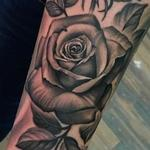 Tattoos - Black & Grey Roses  - 127248