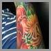 Tattoos - flowers [tulips] - 32254