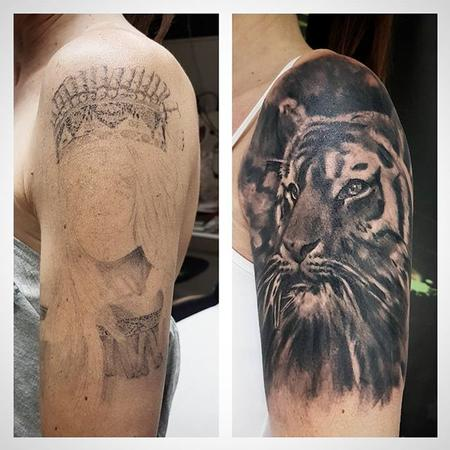 Tiger Coverup Design Thumbnail
