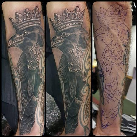 Tattoos - King Crow - 133409