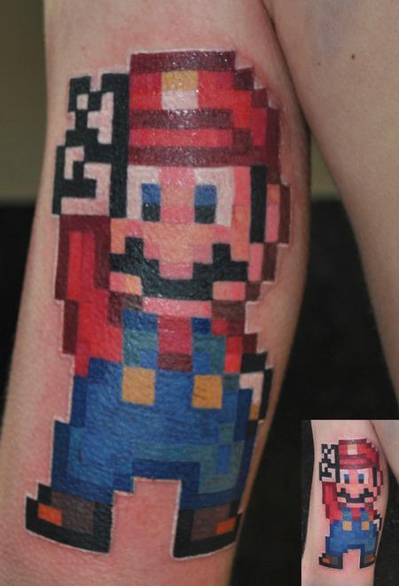 Tattoos - Mario - 63005