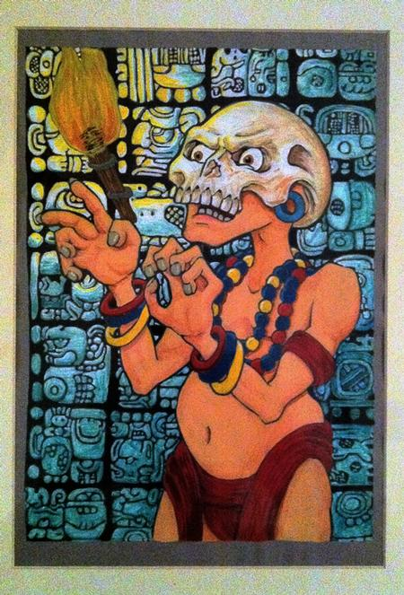 Tattoos - Mayan Priest - 60427