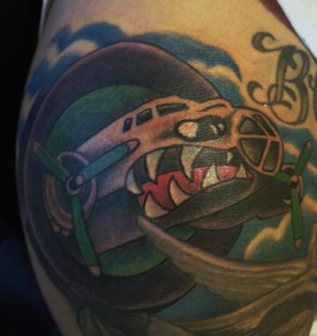 Houston aeros by joey rodriguez tattoonow for Tattoos of houston