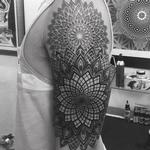 Dot work Mandalas Tattoo Design Thumbnail