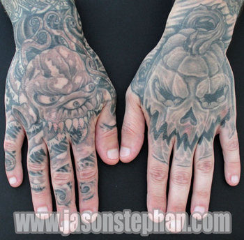 Jason Stephan - scary hands
