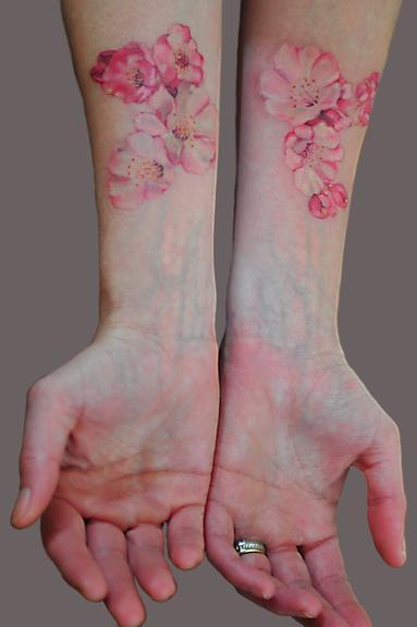 Tattoos - Cherry Blossoms - 54055