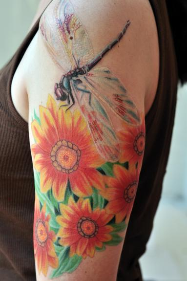 Tattoos - Dragonfly - 54058