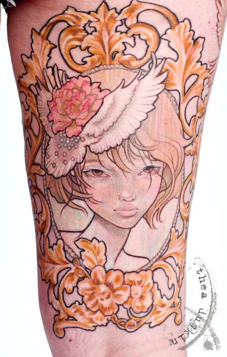 Tattoos - Audrey Kawasaki Reproduction - 91466