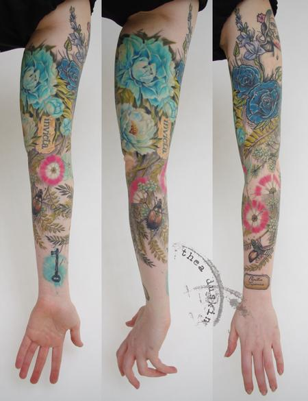 Tattoos - Faith Sleeve - 91467