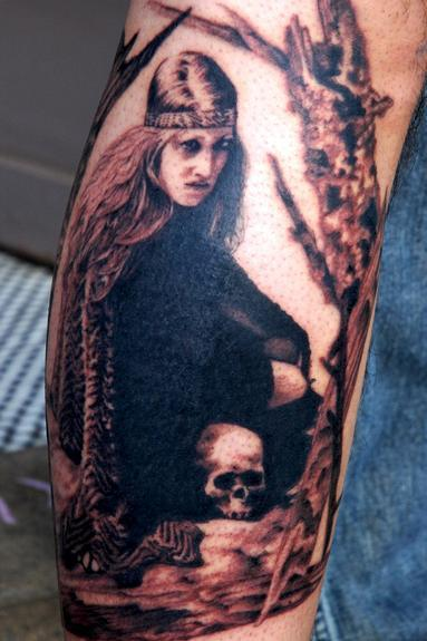 Tattoos - Jex Thoth Portrait - 54063