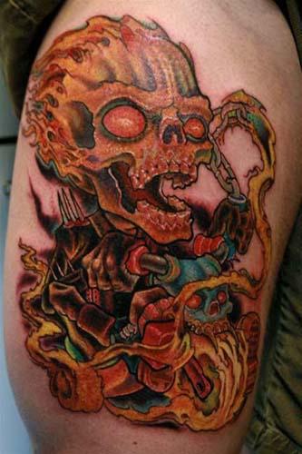 Tattoos - Ghost toddler - 20055