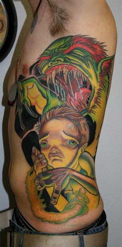 best tattoos ever seen monster tattoo branson mo