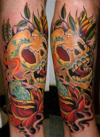 Tattoos - Skull - 18158