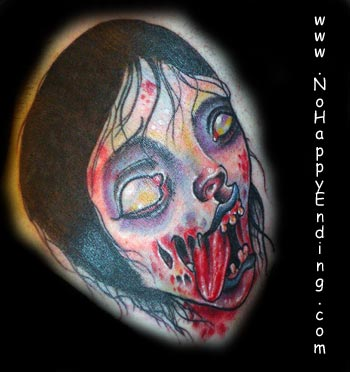 zombie girl tattoo. Tattoos middot; Gunnar. Zombie Girl