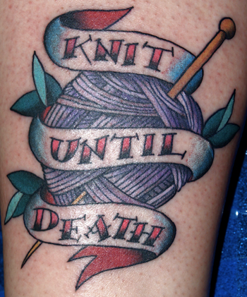 Dave Attonito - Knit until Death
