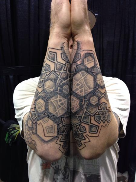 Tattoos - matching forearms - 99968