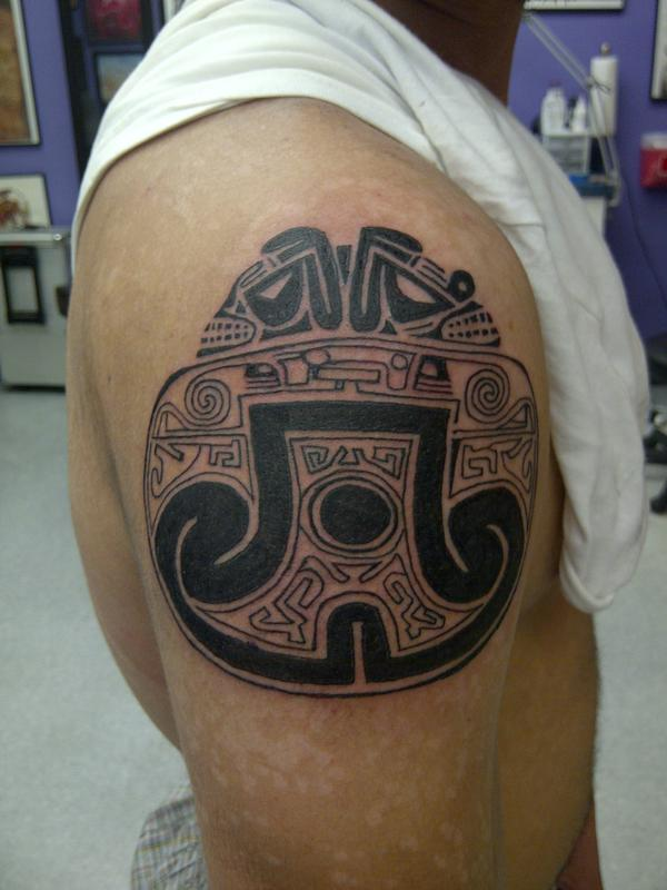 taino arawak tribal by dave shabazz tattoonow. Black Bedroom Furniture Sets. Home Design Ideas